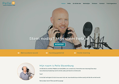 Pelle Voice Producties