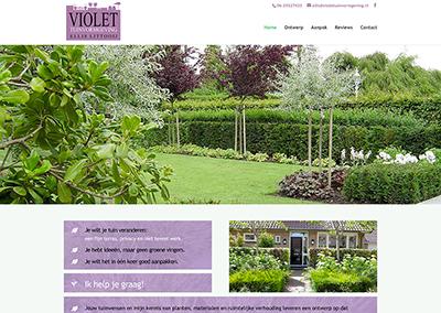 Violet Tuinvormgeving