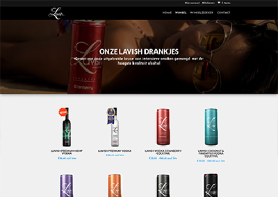 Drinklavish webshop